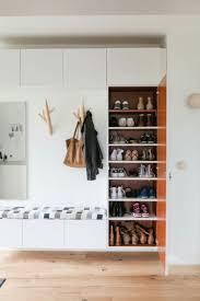shoe storage ideas most simple u0026 ergonomic hallway solutions