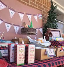 stress free camping birthday party a checklist dear owen