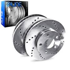 bmw rotors brake rotors rear eline cross drilled bmw 335d ebay