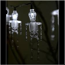 halloween skeleton led fairy lights mad about horror