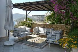 outside space kalkan turkey holiday villa with swimming pool sleeping 10