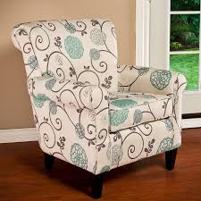 Turquoise Armchair Alcott Hill Wadham Flowered Armchair U0026 Reviews Wayfair