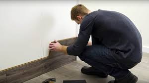Installing Laminate Flooring Youtube How To Horizontally Install Pergo Laminate Flooring On Your Walls