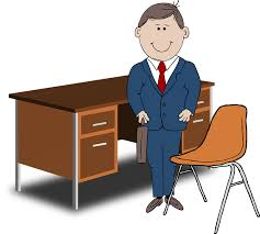 emploi de bureau image vectorielle gratuite de neuf à cinq emplois bureau image