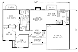 starter home floor plans starter home plan 2850j architectural designs house plans