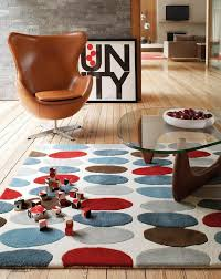 Wohnzimmer Design Modern Teppich Wohnzimmer Carpet Modern Design Matrix Sofia Kreis Rug