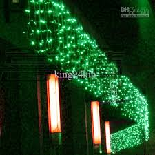 green led net lights 10 3m led curtain light christmas ornament flash colored fairy