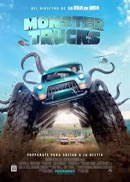 monster truck shows 2016 monster trucks movie poster 2 of 4 imp awards