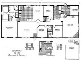 One Bedroom Trailer 2 Bedroom House Plans One Level Doublewide Homes Zone