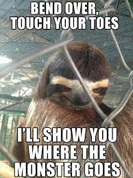 Sloth Meme Images - evil sloth meme dump a day