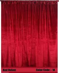 Velvet Curtain Panels Target Maroon Velvet Curtains Alpals Info