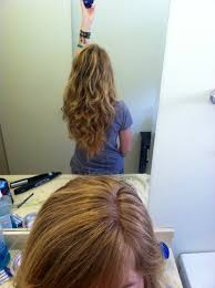 flip hair upsidedown and cut for naturally wavy curly hair it s simple 1 wash hair 2 towel