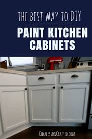 diy paint kitchen cabinets what we learned painting our kitchen cabinets u2022 charleston crafted