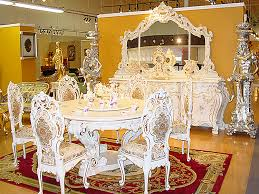 traditional dining room sets traditional white dining room set venus furniture
