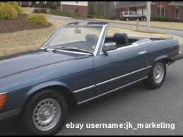 mercedes for sale by owner 1980 mercedes 450sl for sale 1 owner