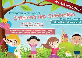 children s day celebration jurong sda church