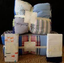 Pottery Barn Madras Crib Bedding by Pottery Barn Kids Alligator Madras Toddler Quilt Beau New Blue