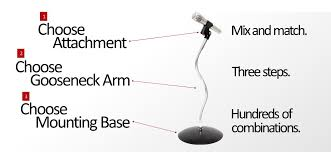 mic stand table attachment microphone snakecl flexible gooseneck microphone stand holder