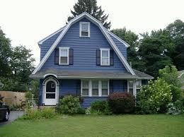 Shutters For Homes Exterior - pix for u003e white houses with dark blue shutters colored houses