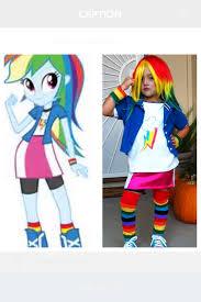 Rainbow Halloween Costume Rainbow Dash Equestria Halloween Costume Rainbow Dash
