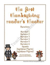 the thanksgiving reader s theater script from ms chrissy bs on