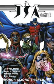 review jsa classified honor among thieves trade paperback dc