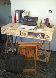 fabriquer bureau informatique fabriquer bureau informatique bureau fabriquac a partir dune palette