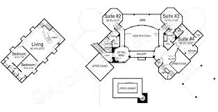 chateau floor plans chateau novella luxury house plan small castle plan