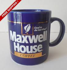 Buy Coffee Mugs Vintage Maxwell House