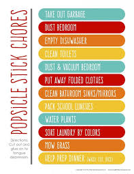153 creative chore charts images chore ideas