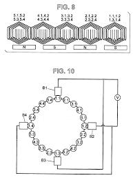 patent us6891304 brush dc motors and ac commutator motor drawing