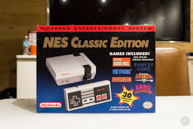 you can buy an nes classic at thinkgeek but you need to win a