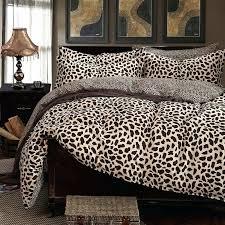 Fur Bed Set Lynx Faux Fur Fullqueen Duvet Cover Set Faux Fur Duvet Cover Queen
