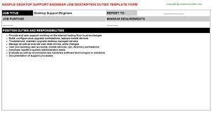 desktop engineer job description cisco customer support engineer