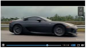 lexus in fast five gray lfa spotted on fast furious 5 fast five