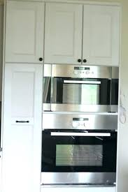 how to install a wall oven in a base cabinet how to install wall oven and microwave sleepstrip info