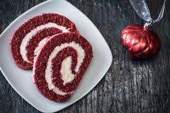 red velvet cake roll stock photo image 52167773