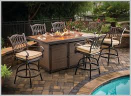high top patio table and chairs bar height patio table and chairs fire pit set for 8 choosing