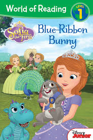sofia the ribbon world of reading sofia the blue ribbon bunny disney
