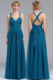 a linie v ausschnitt knielang spitze brautjungfernkleid p597 edressit blau a linie v ausschnitt tüll brautjungfernkleid 07170205
