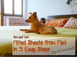 How To Fold A Fitted Bed Sheet How To Make A Fitted Sheet From A Flat Sheet Serger Pepper