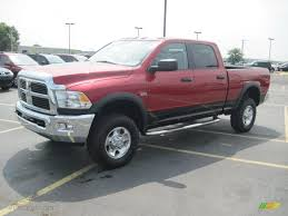 2010 inferno red crystal pearl dodge ram 2500 power wagon crew cab
