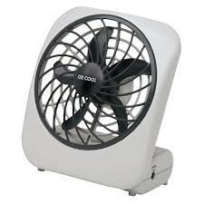 battery powered extractor fan o2 cool personal fan 6 9 in h x 3 9 in w x 5 in dia 2 speed