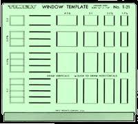 Awning Window Symbol Drafting Supplies