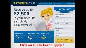 pay day installment loan sos recommendation youtube