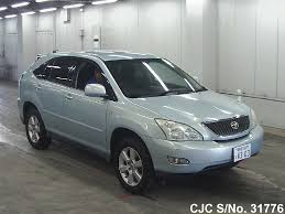 harrier lexus 2007 2003 toyota harrier light blue for sale stock no 31776
