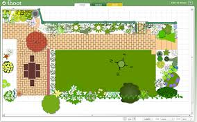 garden appealing green rectangle rustic grass garden design
