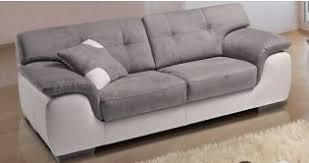 canapé cuir bicolore univers du cuir