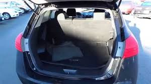 nissan rogue trunk space 2012 nissan rogue super black stock 13615p trunk youtube