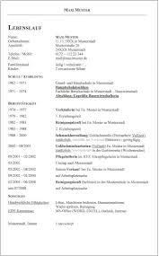 Lebenslauf Vorlage Inhalt 3 Klassischer Lebenslauf Maxi Muster Times New Id 438
